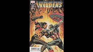 Invaders -- Issue 6 (2019, Marvel Comics) Review