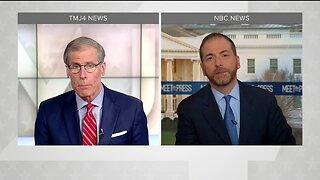 Charles Benson talks with NBC's Chuck Todd on coronavirus impacting politics, 2020 race
