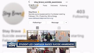 FINDING HOPE: Boise teens campaign for suicide awareness