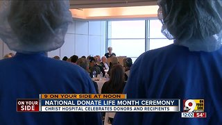 Christ Hospital celebrates National Donate Life month
