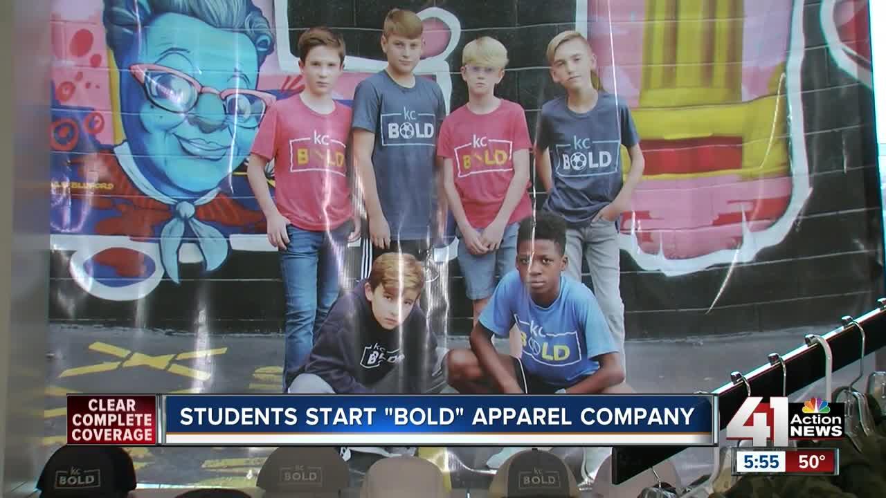 Pembroke Hill students start 'Bold' apparel company