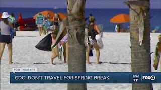 Spring break safety concerns