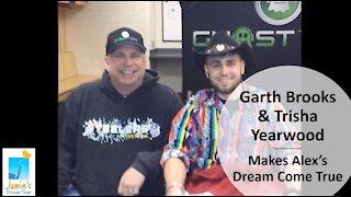 Garth Brooks & Trisha Yearwood Makes Alex's Dream Come True l Jamie's Dream Team