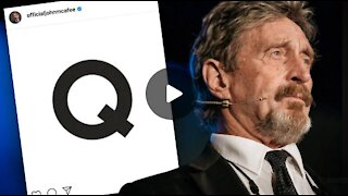 John McAfee Instagram Posts Letter Q With Encrypted Message After His Death _