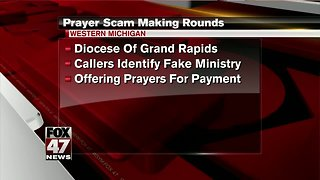 Prayer scam making rounds