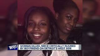 Police: Man fatally shoots girlfriend, wounds her niece in Detroit