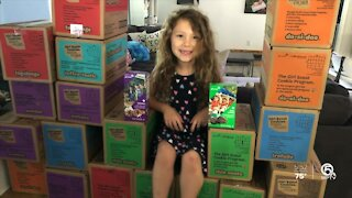 Jupiter Farms Girl Scout gets innovative with cookie sales