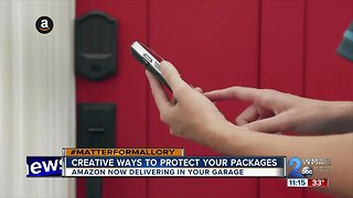 High-tech solutions to protect your packages from thieves