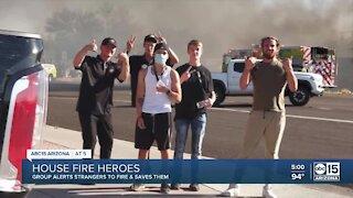 Good Samaritans save Mesa family from house fire