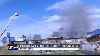 Pocatello nursing home is a total loss after fire