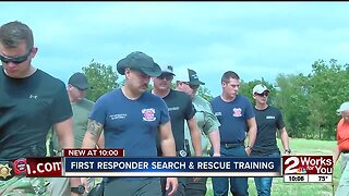 First responder search and rescue training
