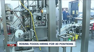 Beefing up production: Rosina Foods to build new plant, hiring for 40 positions