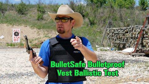 Testing a BulletSafe Bulletproof Vest the Hard Way : TTAG Range Review
