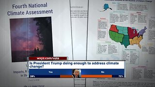 Local scientists worked on climate change report