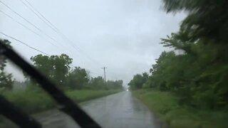 Flash flooding in Tulsa area