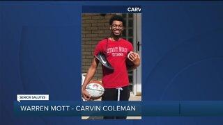 WXYZ SENIOR SALUTE: Carvin Coleman