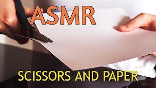 ASMR - Scissors and Paper sound