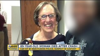 89-year-old woman dies after crash