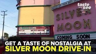 Silver Moon Drive-In   We're Open