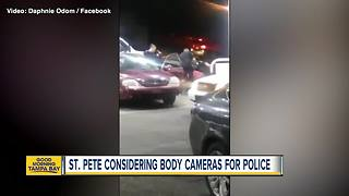 St. Pete considering body cameras for police
