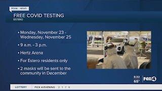 Free covid testing in Estero