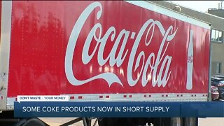 Some Coke products now in short supply