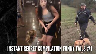 Instant Regret Compilation Funny Fails #1