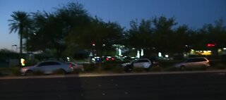 Robbery suspect shot by police in Summerlin