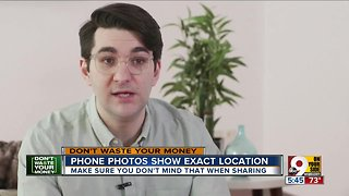 Even if you're careful, phone photos can spread personal information