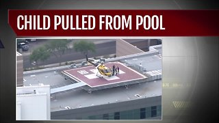 Buckeye toddler pulled from Buckeye pool, rushed to hospital