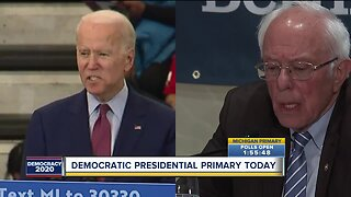 Democratic presidential primary today in Michigan