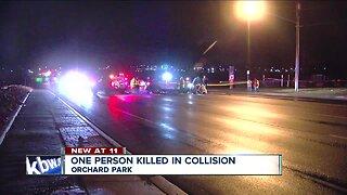 Individual struck by vehicle, killed near New Era Field