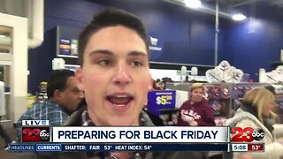 Black Friday shopping from Best Buy