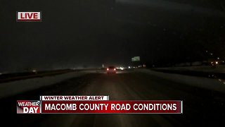 Checking in on the roads in Macomb County