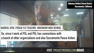 Project Veritas: Sacramento Teacher Bragging About Indoctrinating Students to Become ANTIFA