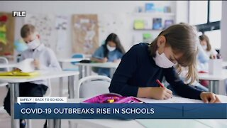 COVD-19 outbreaks rise in schools