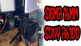 Sigma 16MM F1.4 Review with Sony A6100 (WORTH IT) 2021