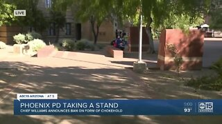 Phoenix police taking a stand