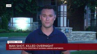 Tulsa police investigating fatal shooting at Savanna Landing Apartments