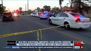 Multiple shootings reported over Easter weekend