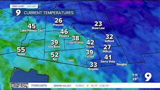 Chilly start before a warm week