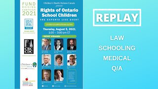 REPLAY- Children's Health Defense Canada, Experts LIVE event