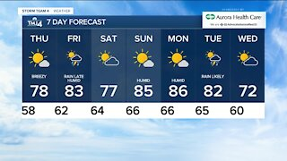 Southeast Wisconsin weather: Nice weather continues Thursday