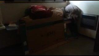 SOUTH AFRICA - Johannesburg - Homeless shelter (videos) (T5j)