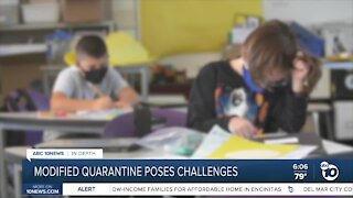 In-Depth: Modified quarantine poses challenges for San Diego Unified