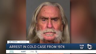 Arrest made in National City cold case from 1974