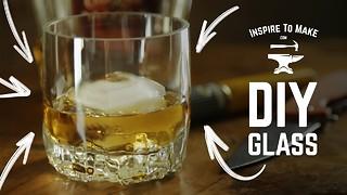 Creative DIY Trick To Make A Whiskey Glass