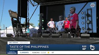 Taste of the Philippines at Waterfront Park