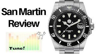 The Best Subby Homage for $200 - San Martin SN017-G