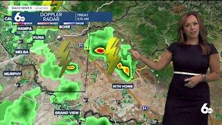 Rachel Garceau's Idaho News 6 forecast 8/6/21